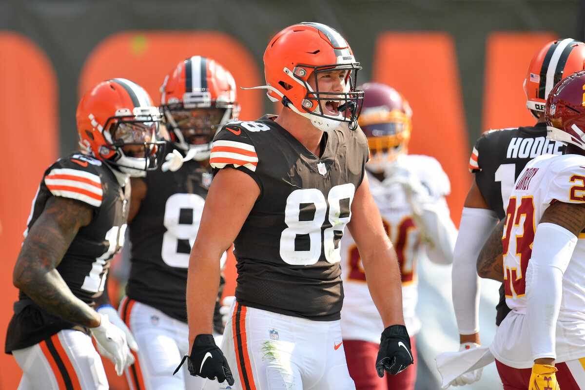 Cleveland Browns rookie tight end Harrison Bryant is quietly enjoying a solid rookie season. Bryant looks like the Browns' hidden weapon.
