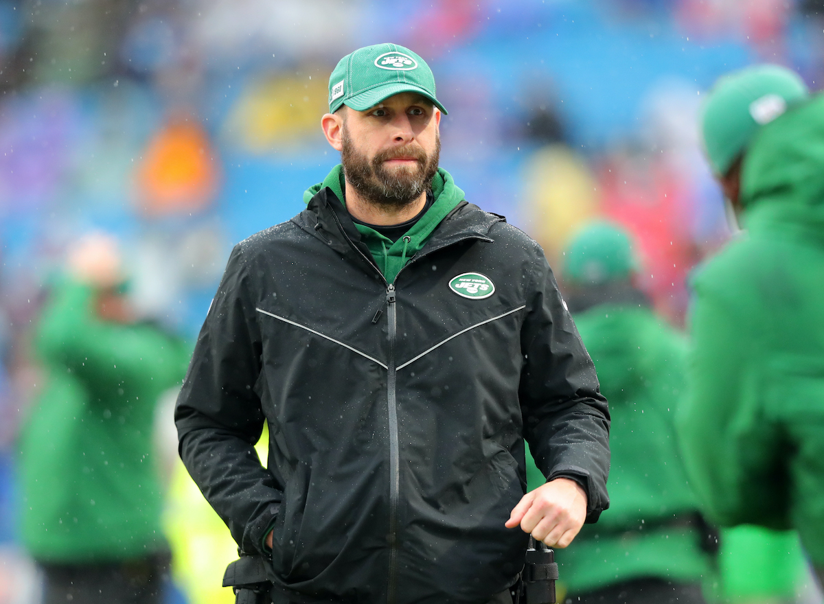 Jets coach Adam Gase