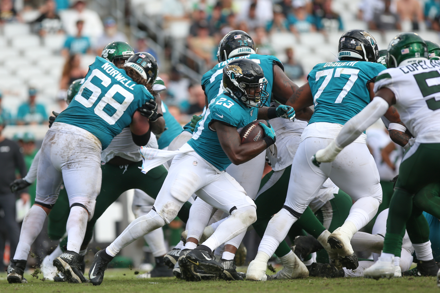 Many NFL players have been hit by COVID-19. The Jacksonville Jaguars have a player who has arguably been hit the hardest.