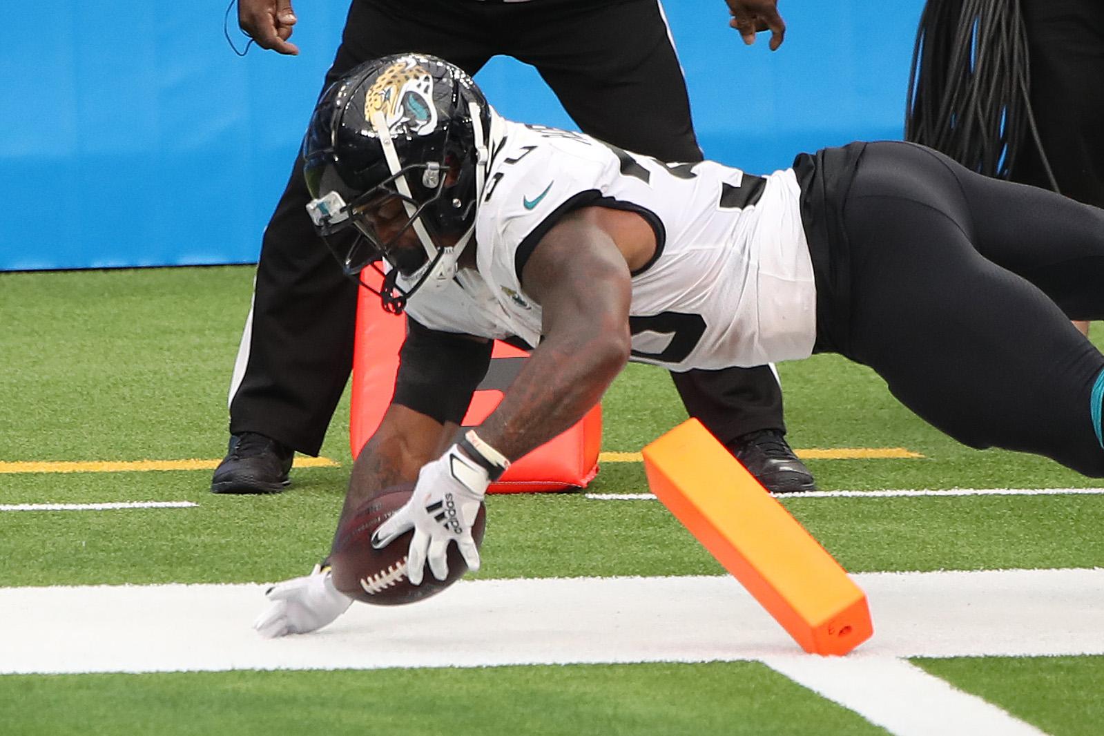Jacksonville Jaguars running back James Robinson is having an unprecedented rookie season.