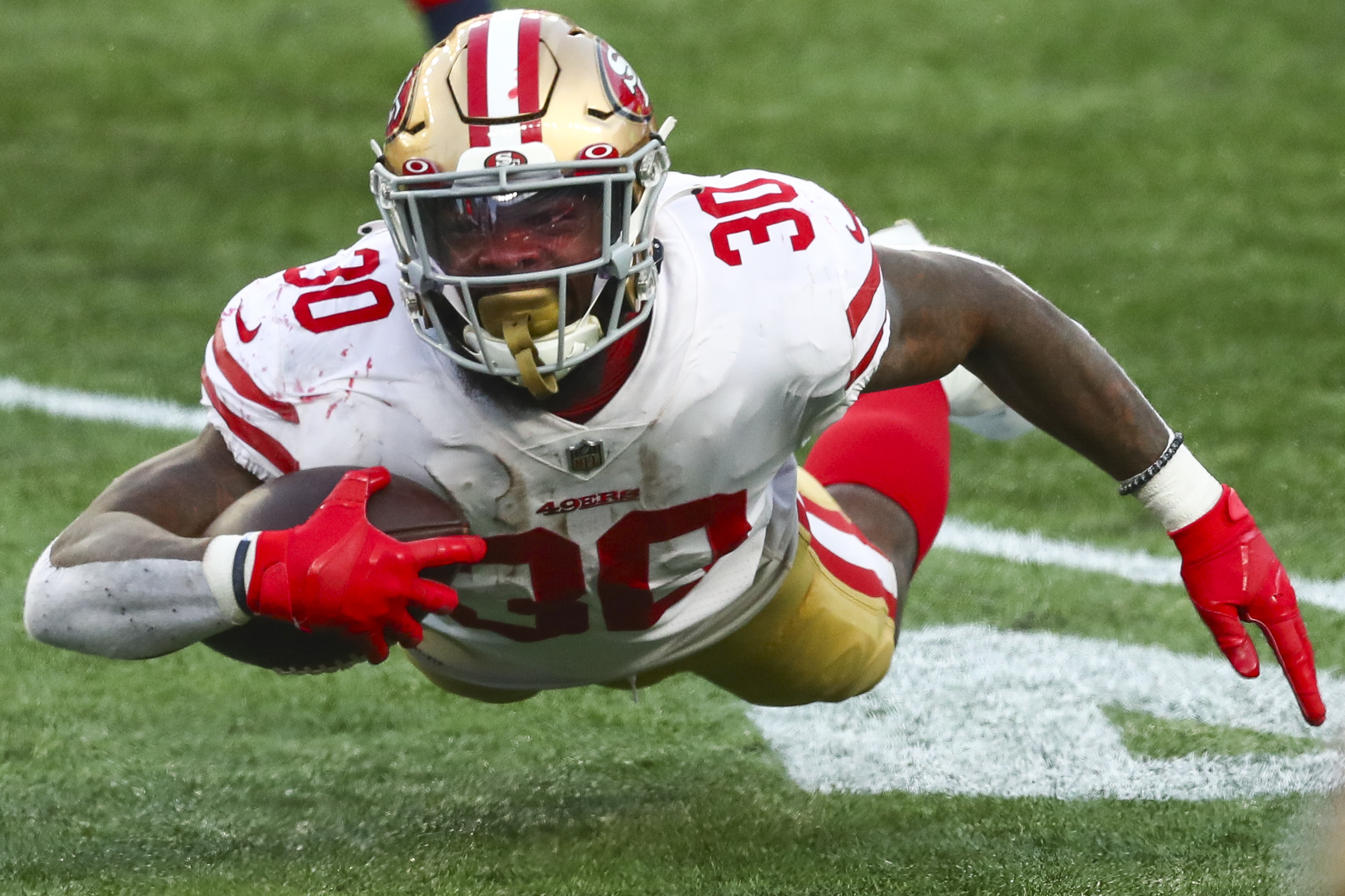 The San Francisco 49ers may be without young running back Jeff Wilson Jr. for the next few weeks because of an ankle injury.
