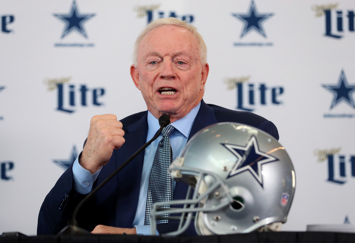Jerry Jones of the Dallas Cowboys