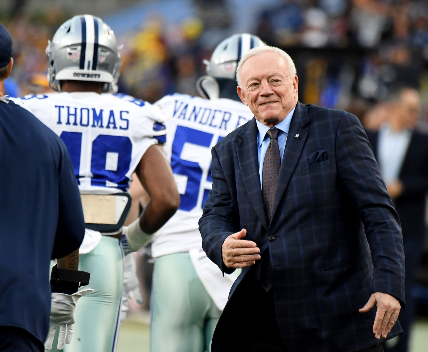 Jerry Jones just sent a strong message about Andy Dalton, who will be tasked with leading the Cowboys in the wake of Dak Prescott's season-ending ankle injury.