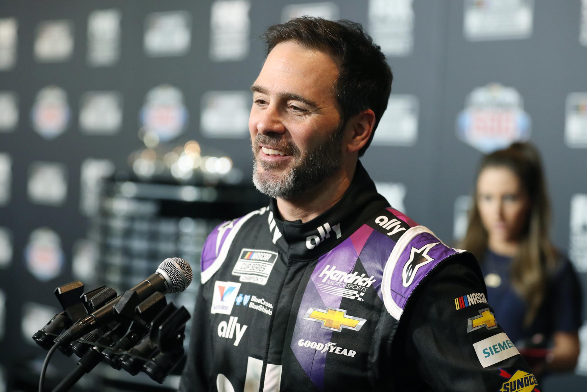 Jimmie Johnson has had a legendary NASCAR Cup Series career. He just recently got honored for it in a pretty cool way too.