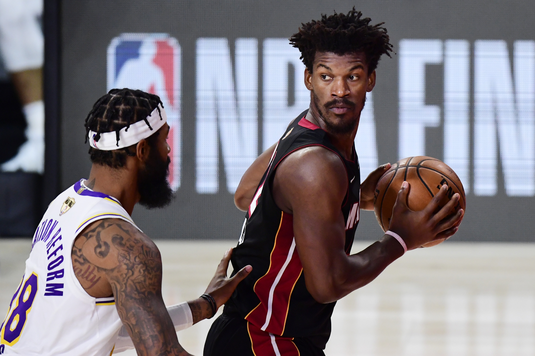 Jimmy Butler became a legend during the NBA Finals. After the Heat ultimately lost to the Lakers, Butler sent a strong message to the league.
