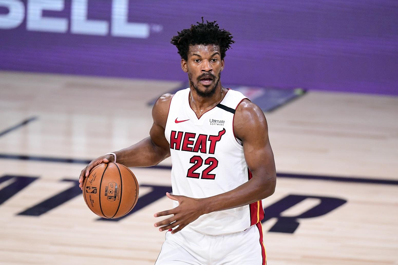 Jimmy Butler Miami Heat new superstar teammate