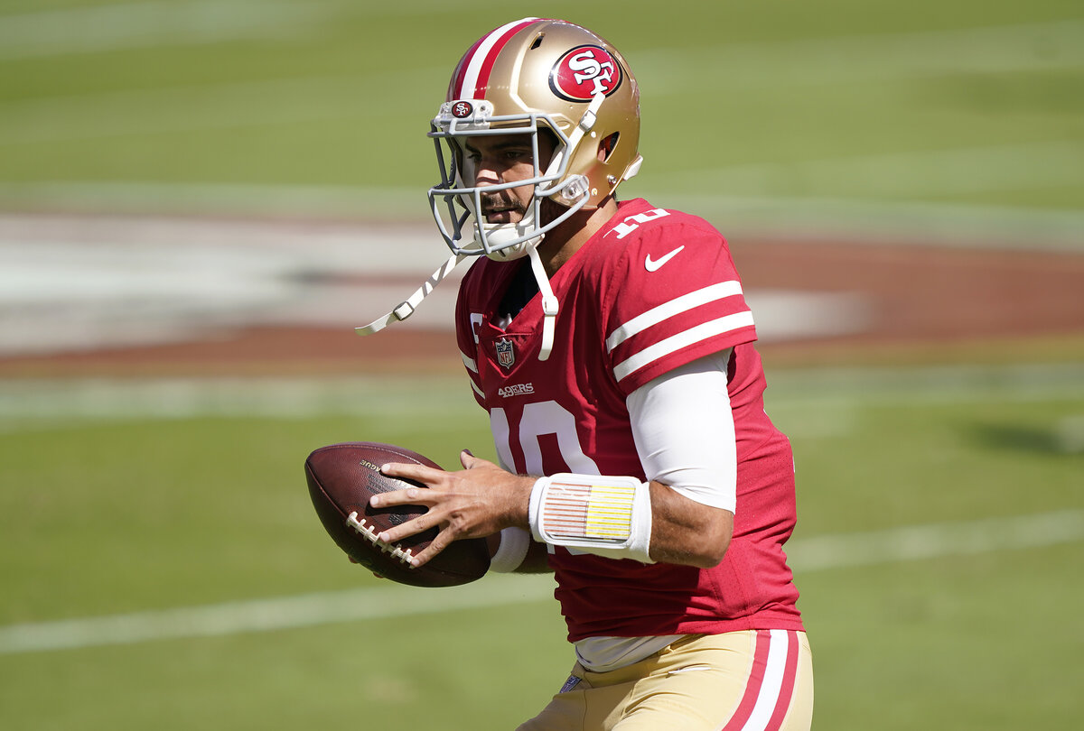 The San Francisco 49ers have backed themselves into a corner with quarterback Jimmy Garoppolo.