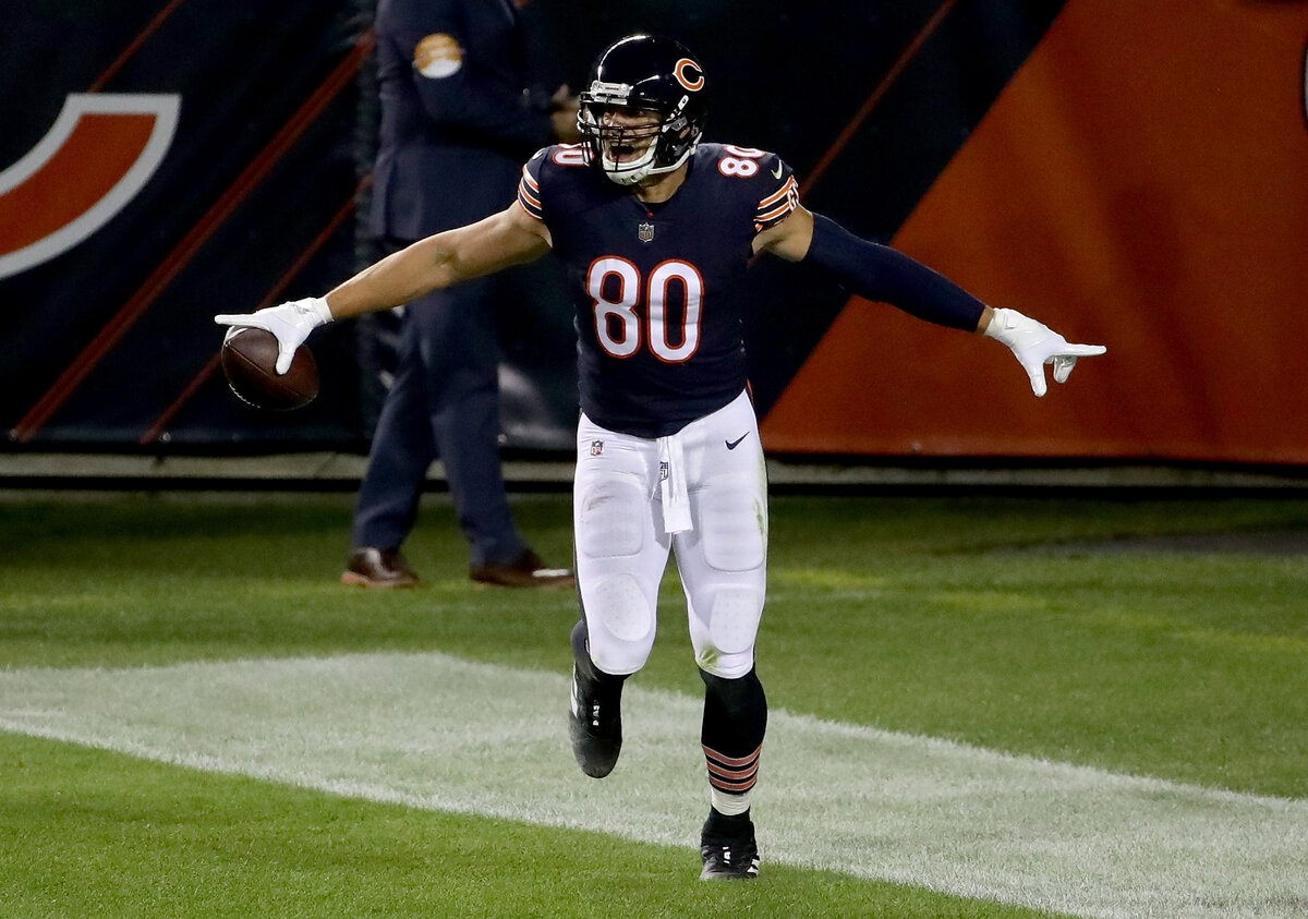 There was mass confusion when the Bears signed Jimmy Graham earlier this year. The former All-Pro tight end is reviving his career in Chicago.