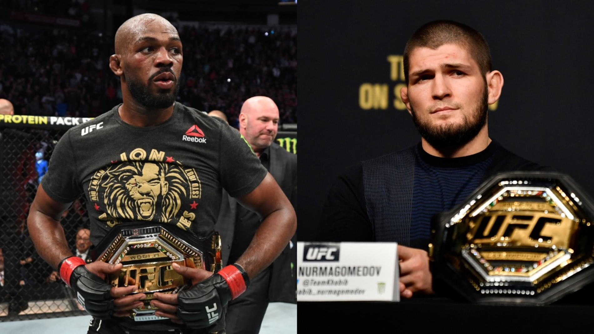 Khabib Nurmagomedov is calling it quits after a legendary career in the UFC. So, is he the GOAT? Jon Jones just sent out a stern message.