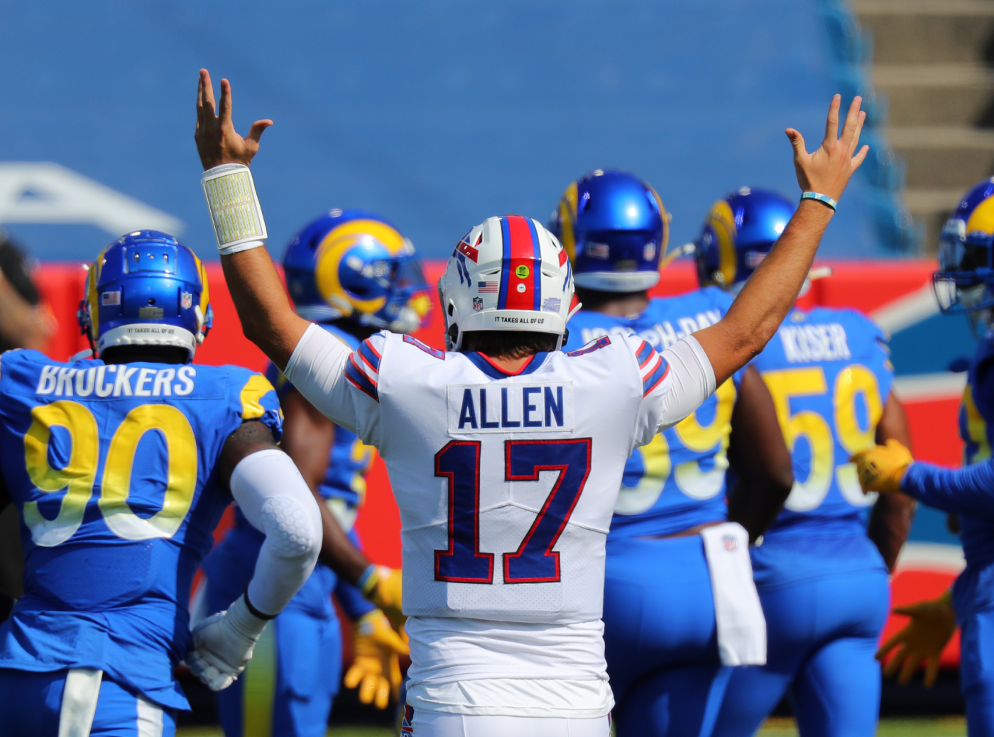 Josh Allen is getting the last laugh.