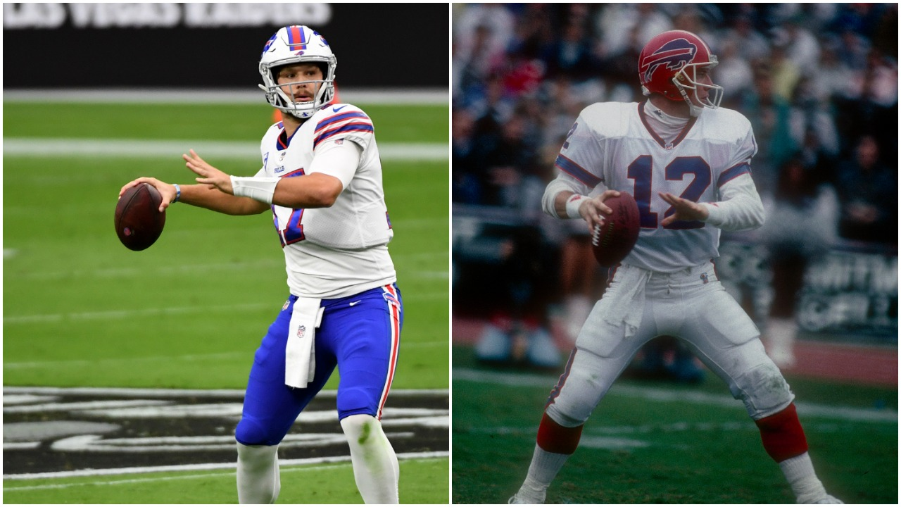 Josh Allen Jim Kelly Buffalo Bills