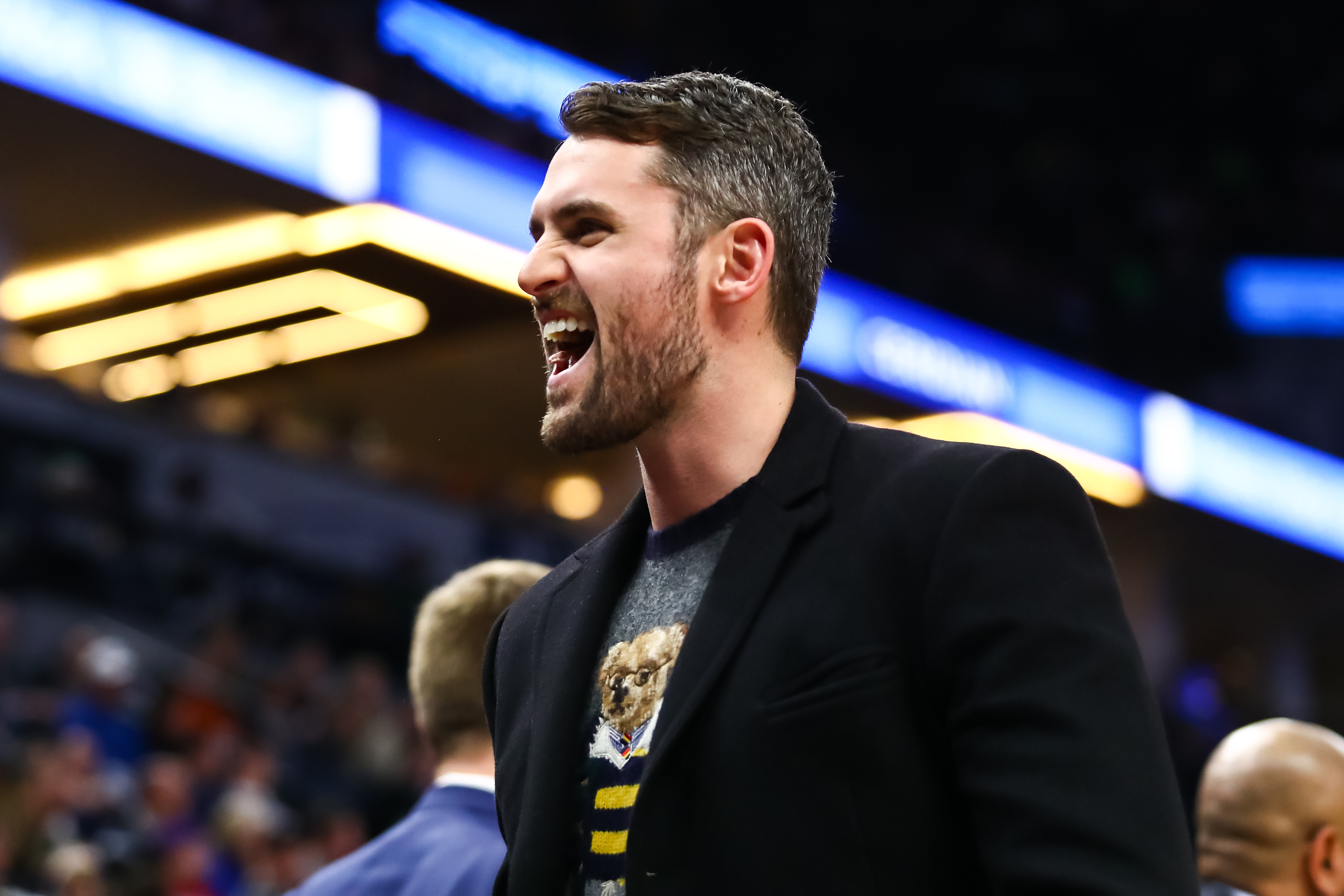The Cavaliers' Kevin Love