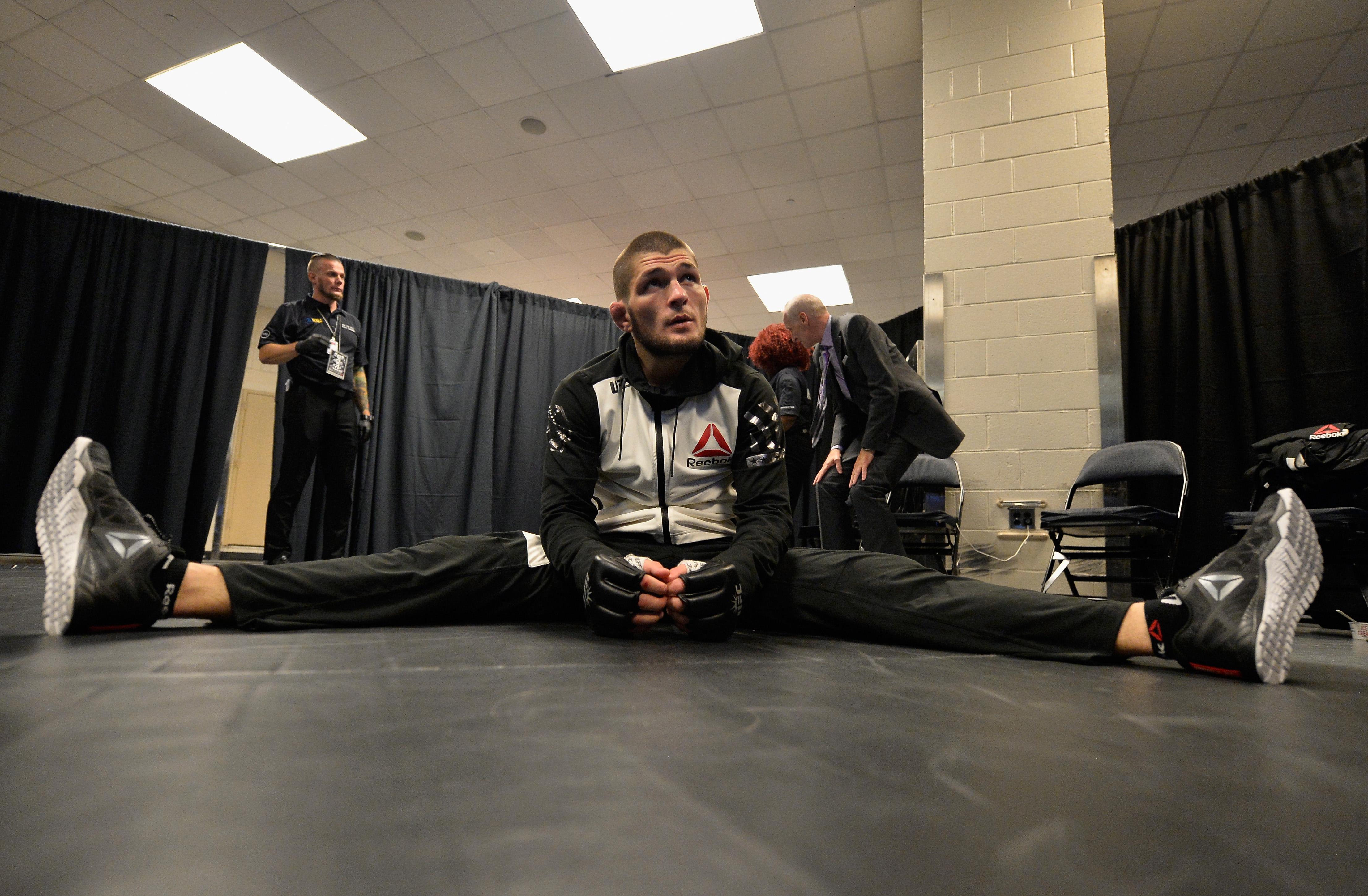 UFC fighter Khabib Nurmagomedov