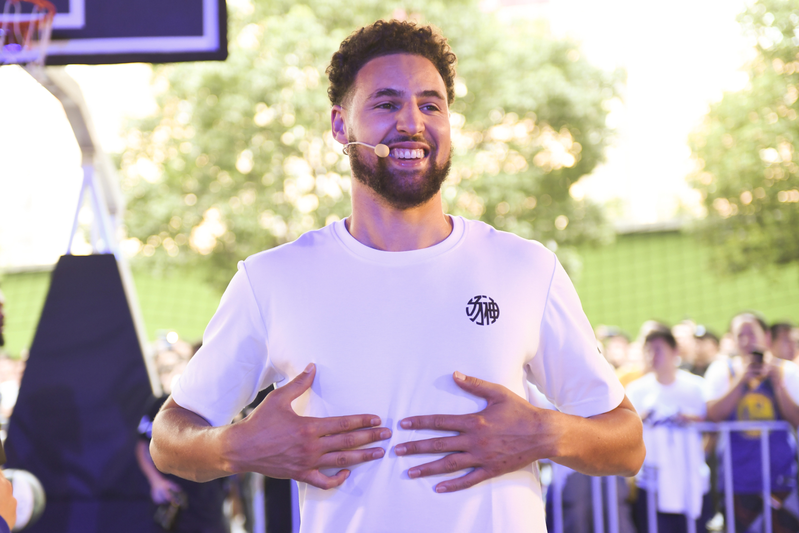 Klay Thompson has been a great player and has had some interesting endorsement deals. Now, his new one is taking him back to his childhood.