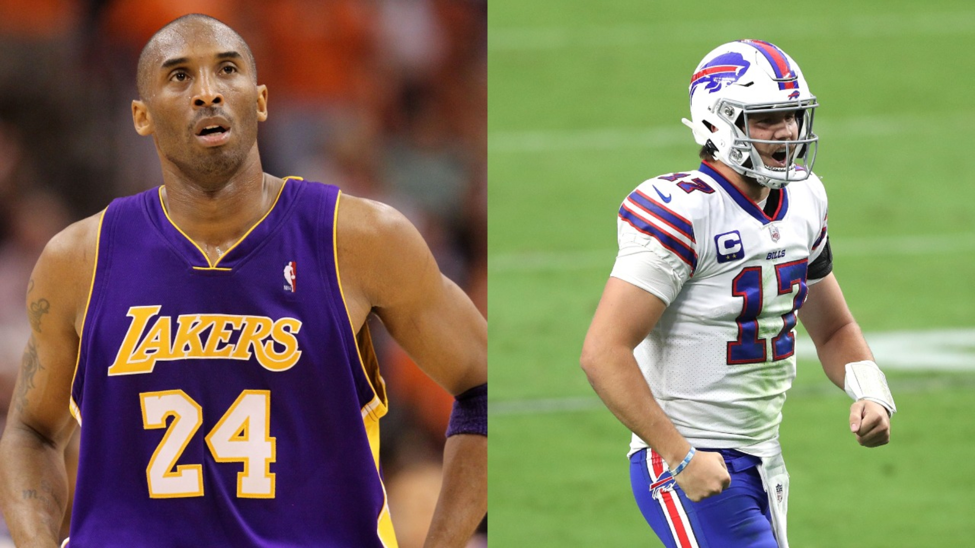 Buffalo Bills QB Josh Allen proved his toughness against the Las Vegas Raiders. Kobe Bryant ultimately helped him do it too.