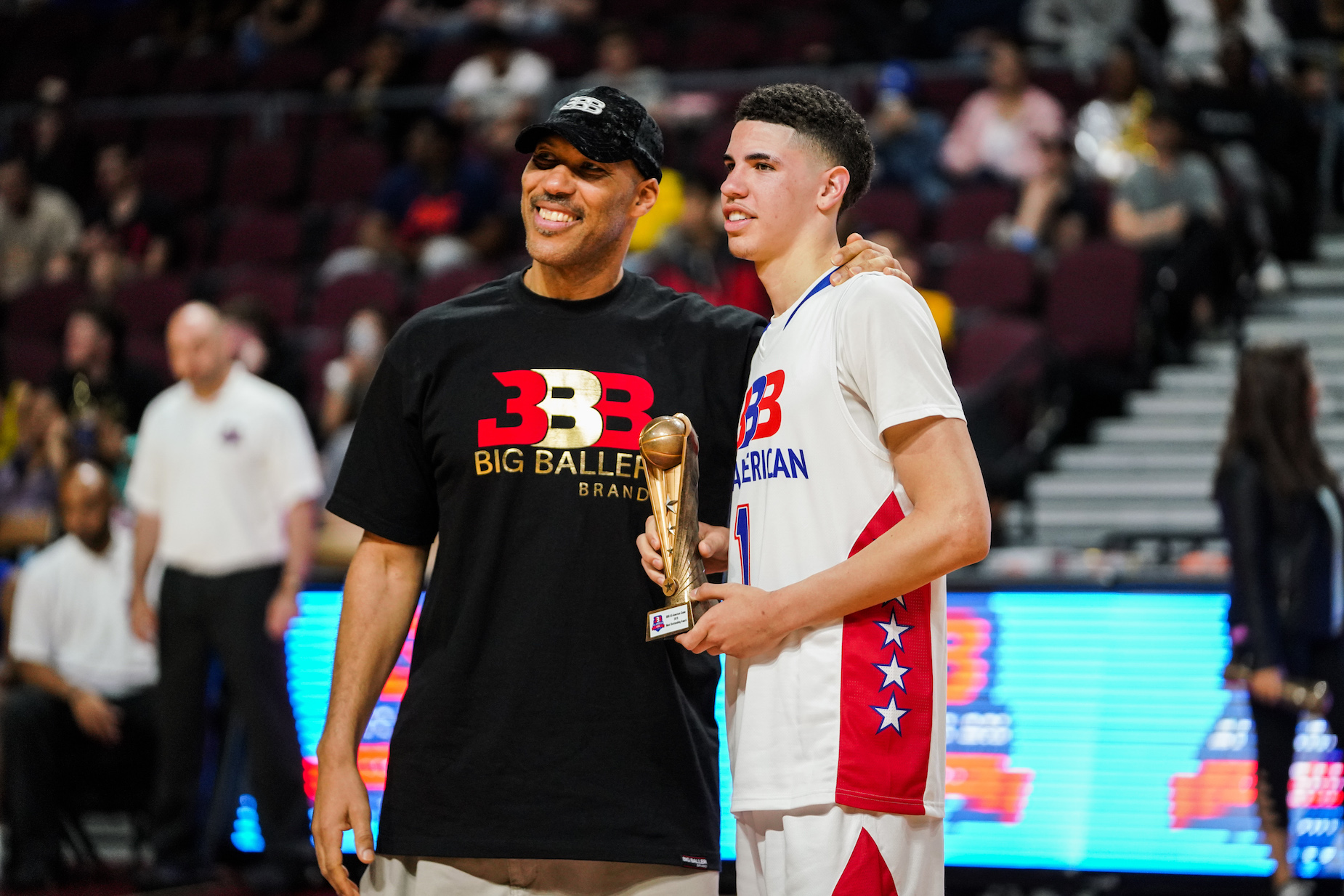 LaMelo Ball could make his father, Lavar Ball's, nightmare come true at the NBA draft.