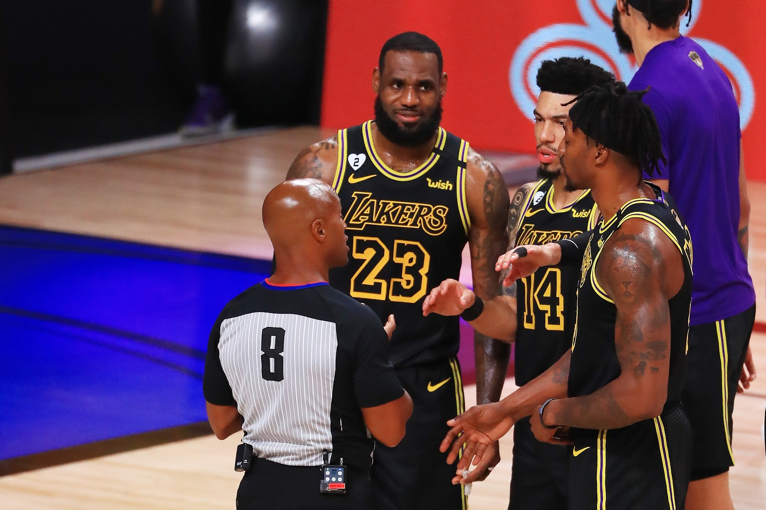 Lakers Game 6 NBA Finals massive change