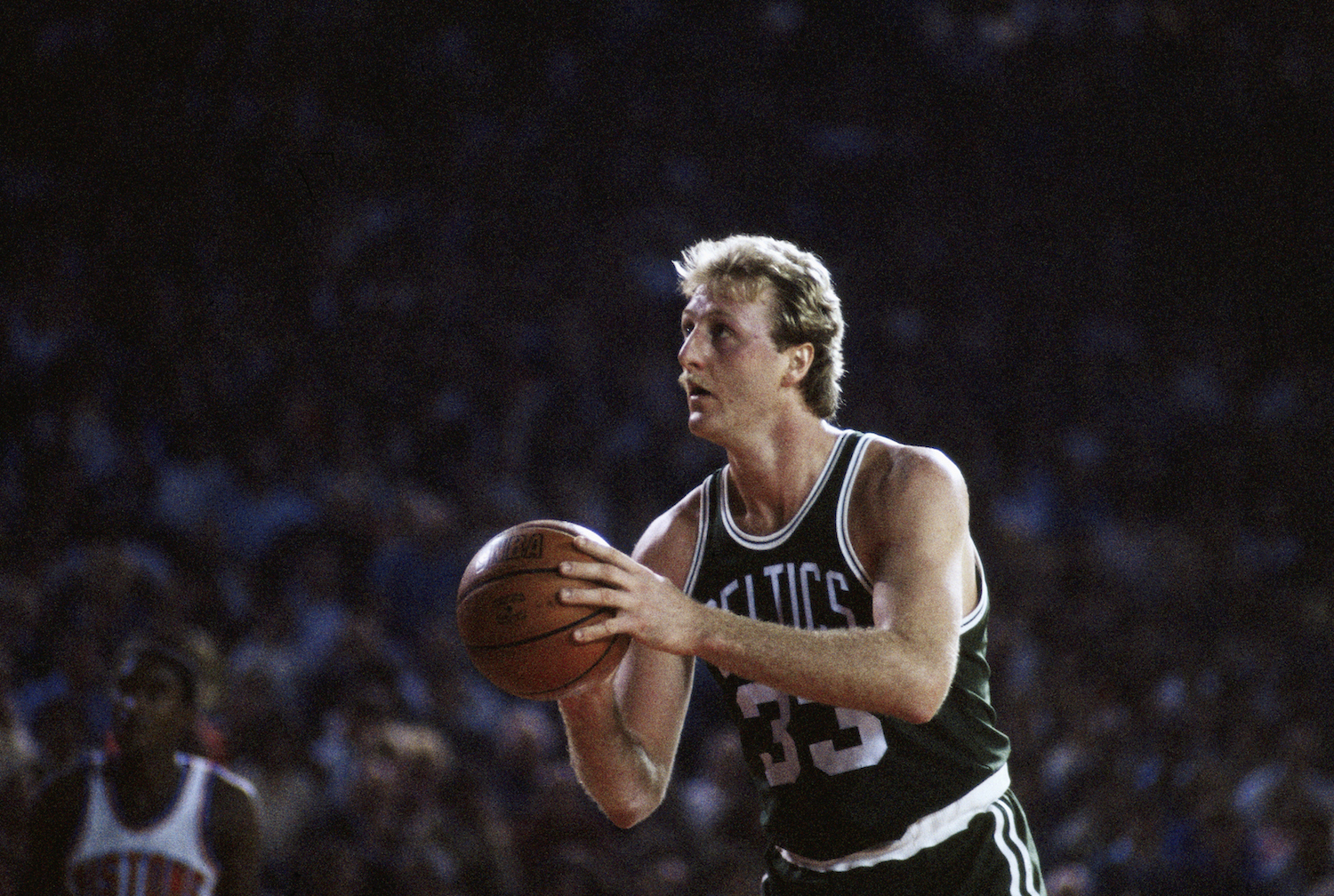While Larry Bird had an iconic NBA career, he didn't think about basketball once he stepped on the court.