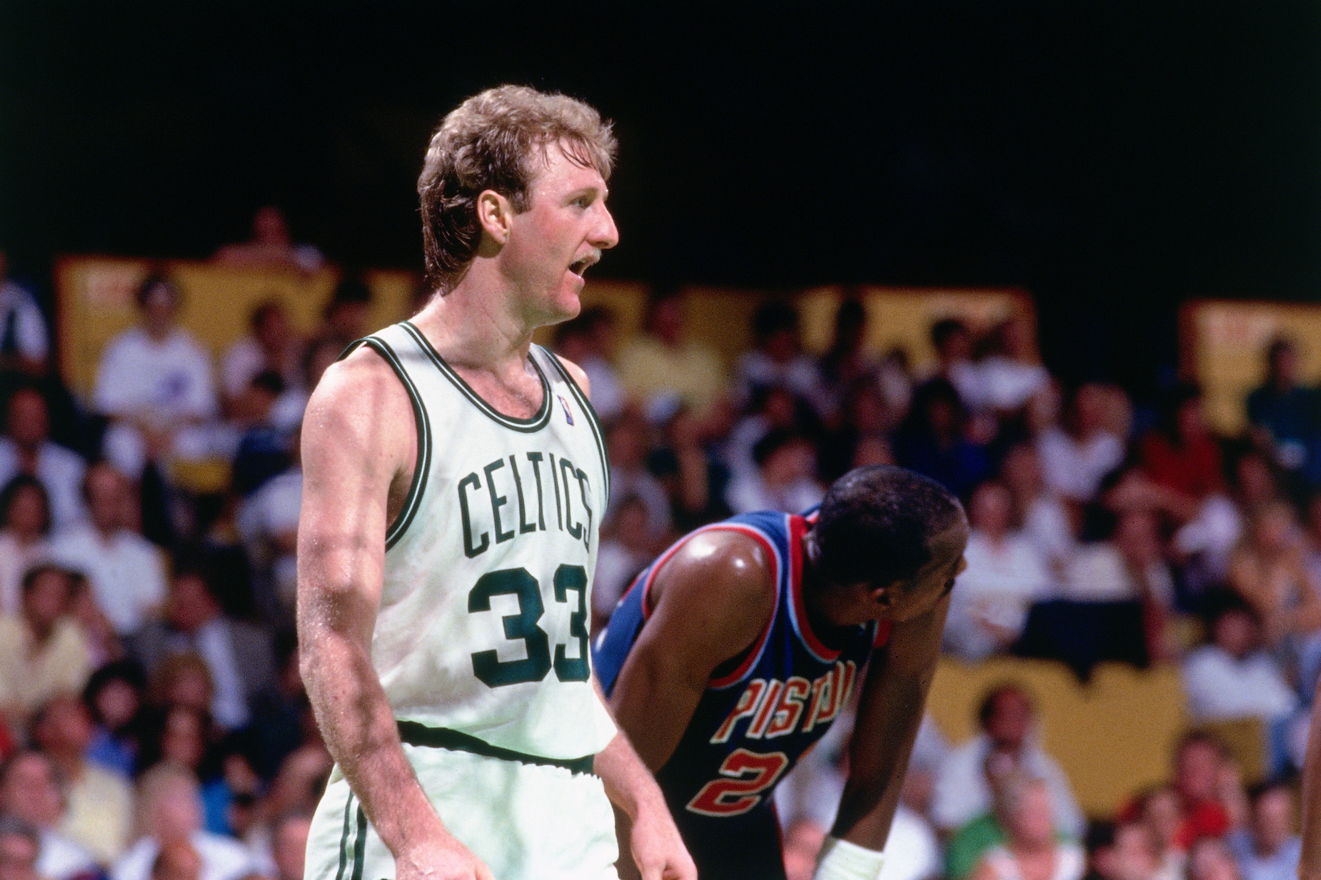 Larry Bird played in the rough and tumble 1980s, but appreciates the modern game's rulebook.