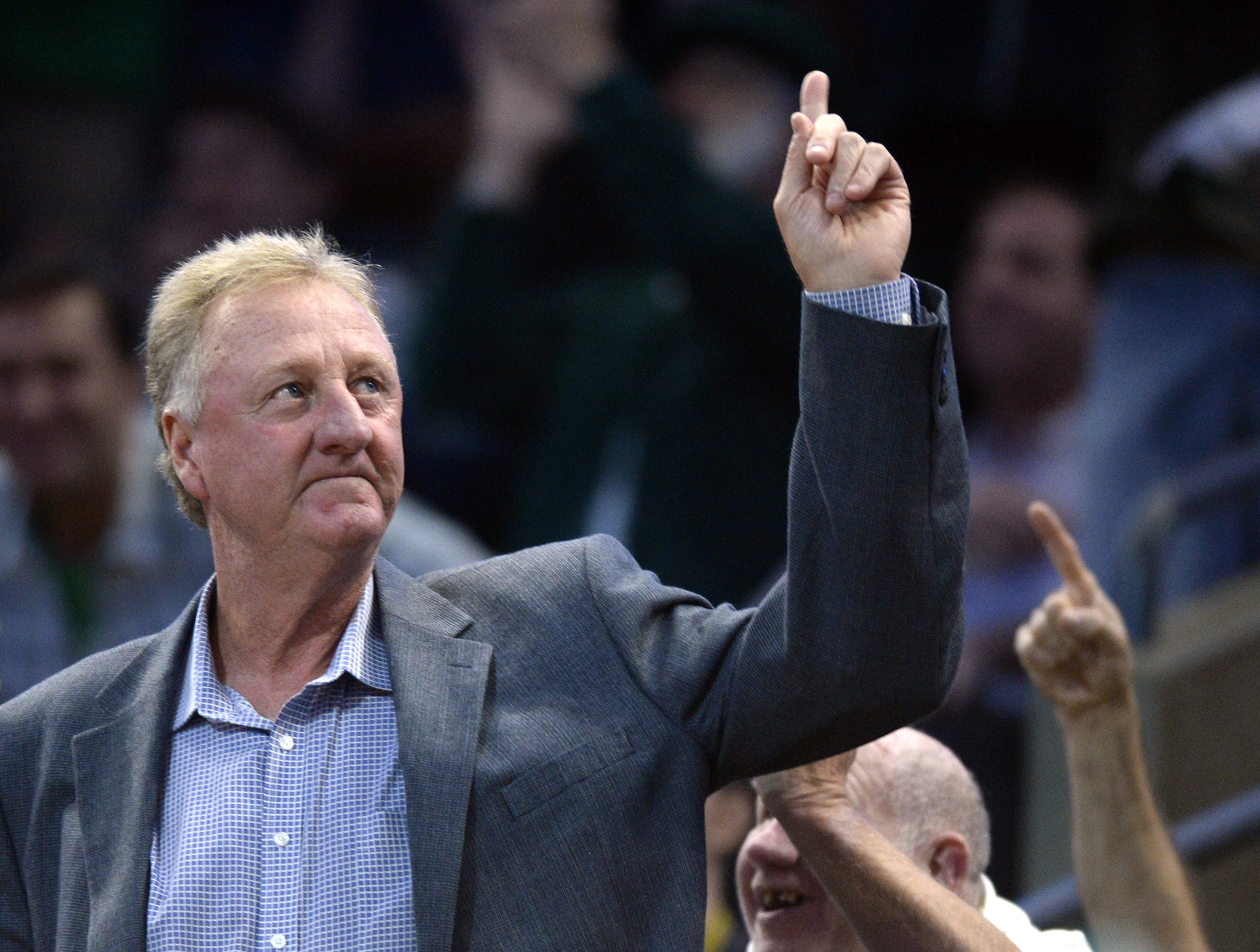 Larry Bird is a living legend, but he's not afraid of death, either.