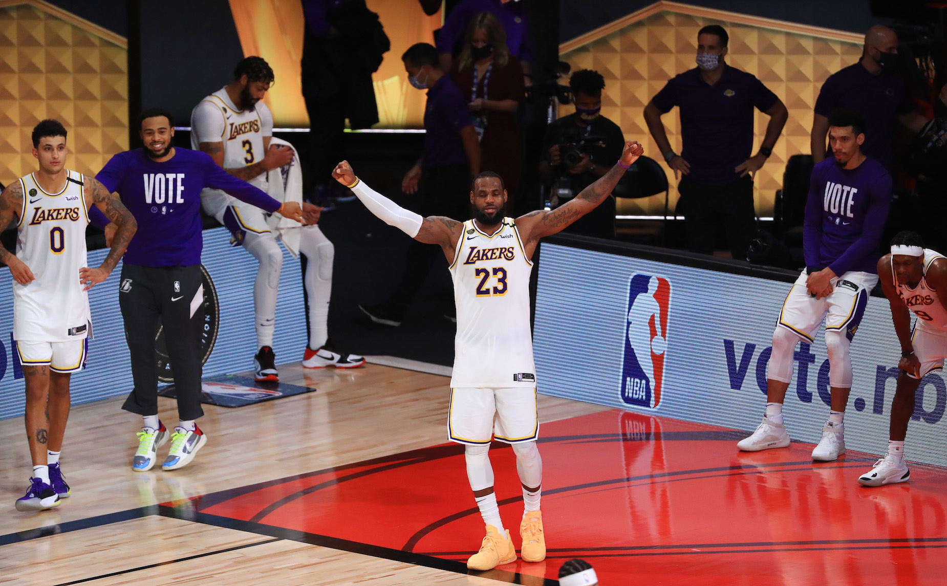 After winning another NBA title, LeBron James strengthened his claim to basketball's GOAT title.