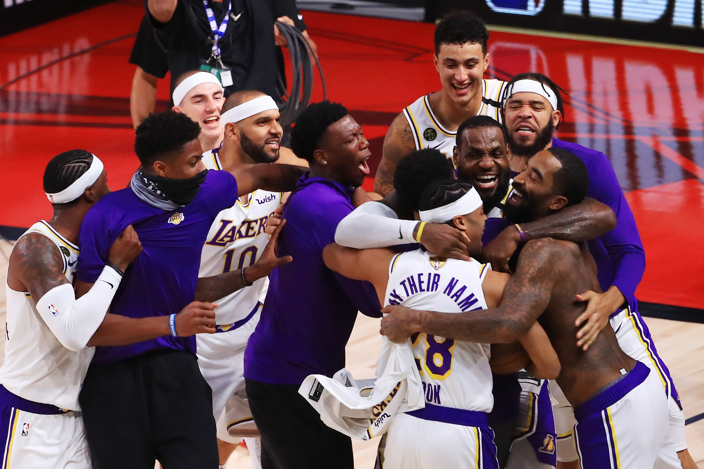 LeBron James and the Los Angeles Lakers could face an unprecedented challenge in the 2020-21 NBA season.
