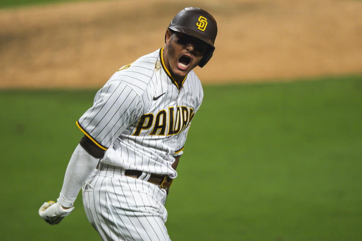 San Diego Padres' Manny Machado
