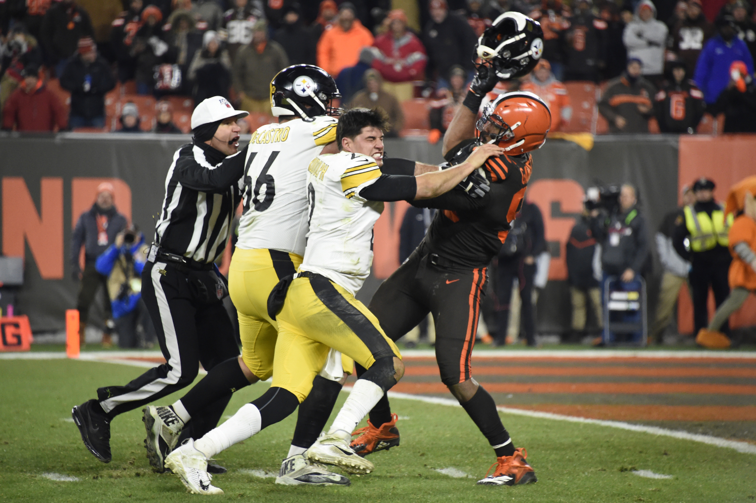 Is Mason Rudolph still with the Pittsburgh Steelers?