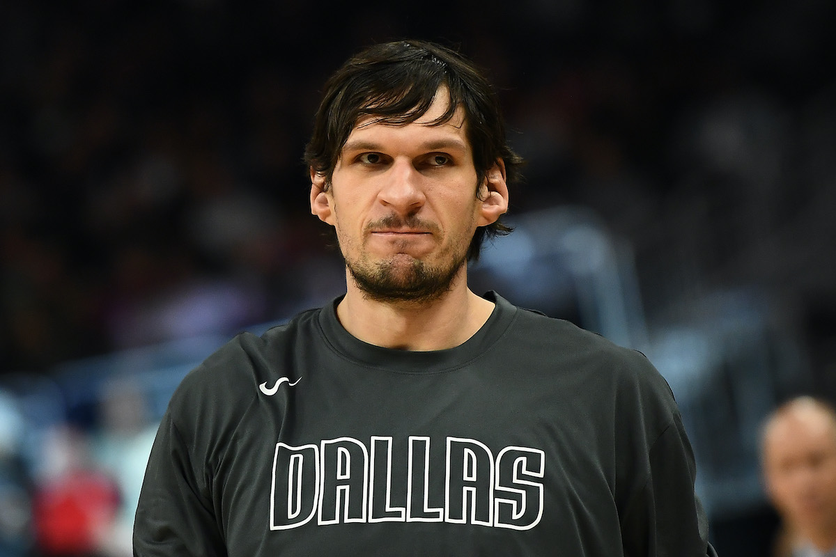 Dallas Mavericks' Boban Marjanovic