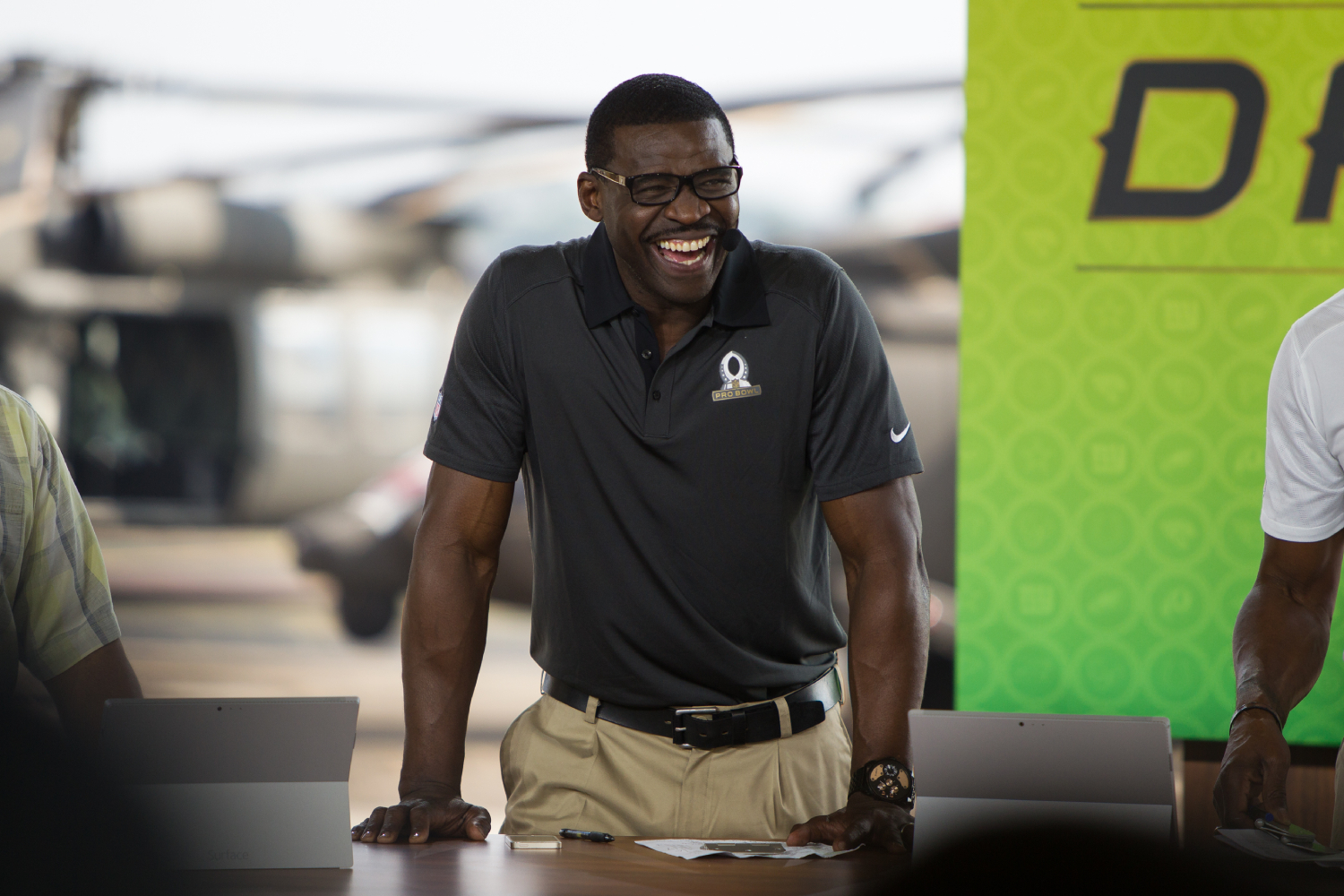 Michael Irvin isn't too happy with the Dallas Cowboys defense.