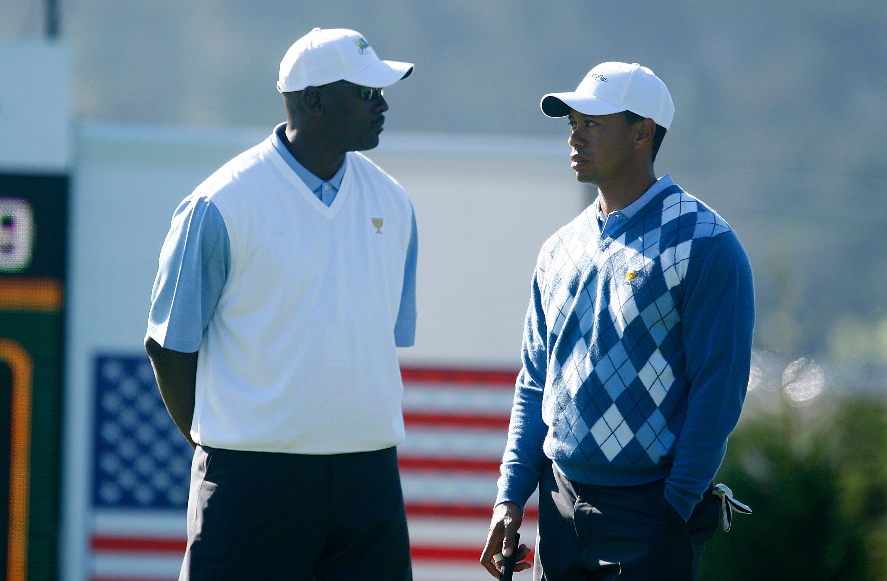Tiger Woods and Michael Jordan