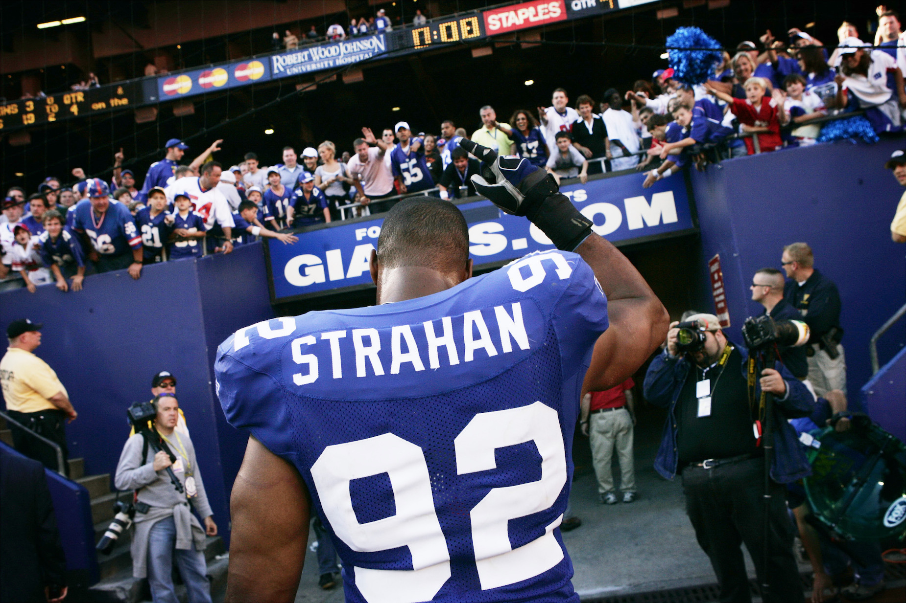 Michael Strahan was teased as a child and channeled that experience into an NFL career.