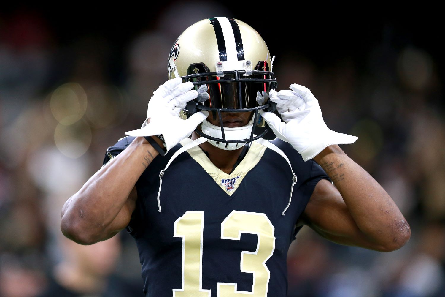Having already missed several games because of his ankle, New Orleans Saints star Michael Thomas just suffered another injury setback.