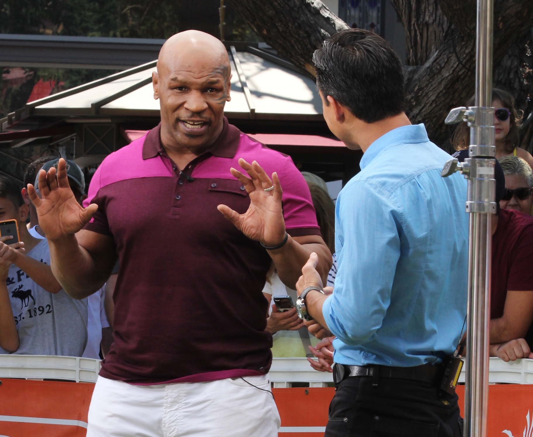 Mike Tyson explains how he emerged from bankruptcy.