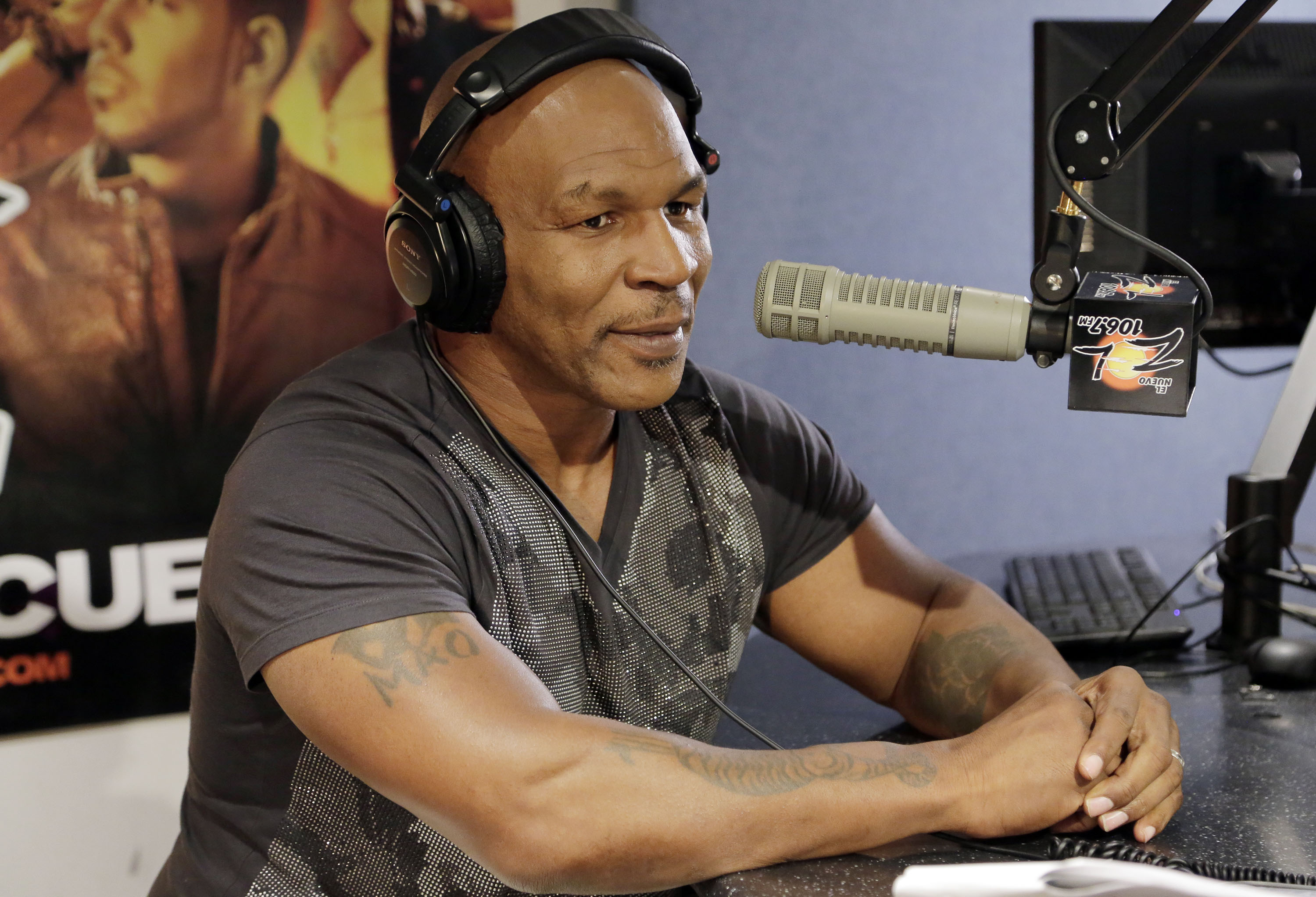 Mike Tyson said he wanted to be mad at his father, but wasn't angry at him