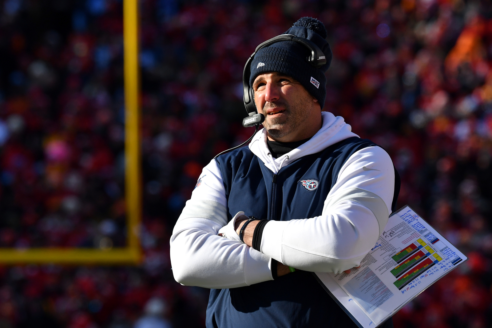 Titans Coach Mike Vrabel's Promising Career Path Could Soon Hit a Massive Roadblock