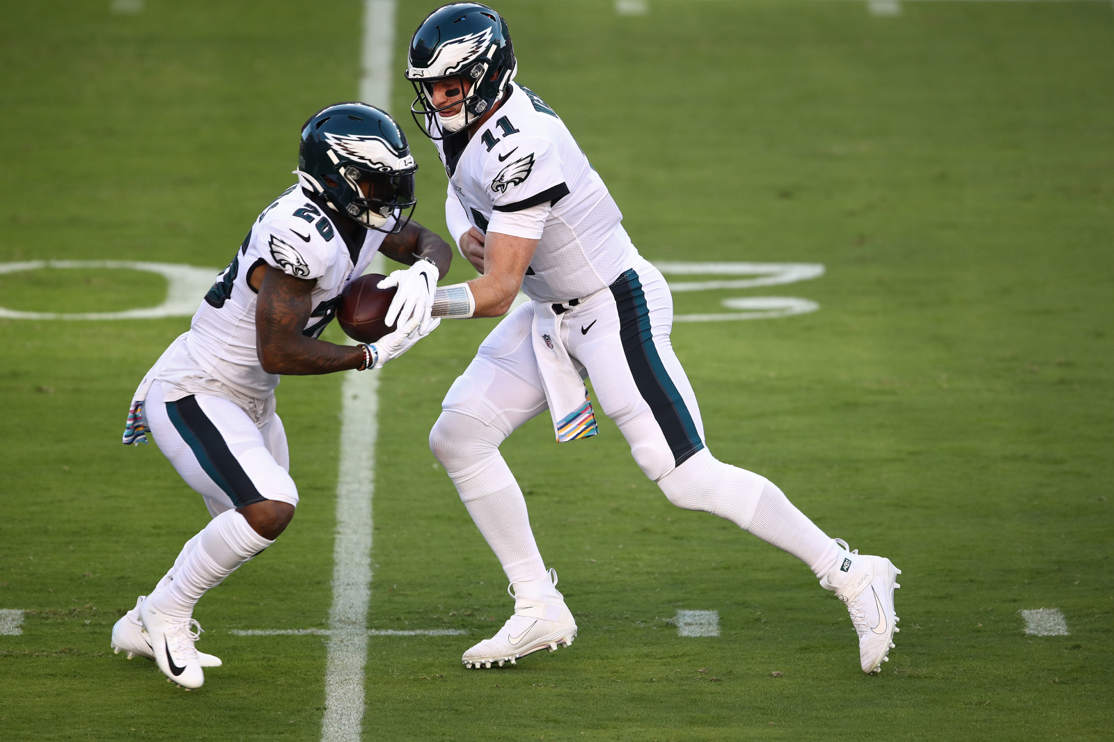 Philadelphia Eagles fans were terrified when star RB Miles Sanders went down with an injury on Sunday. Well, the Eagles just got very lucky.
