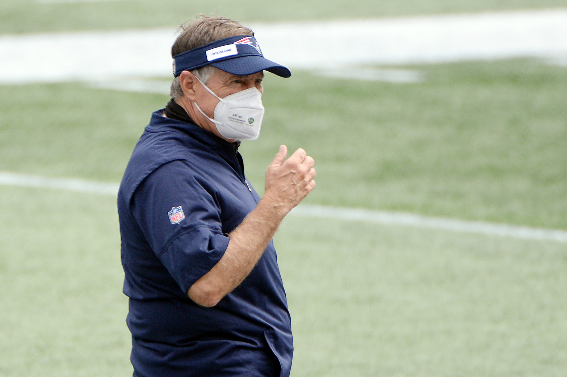 NFL coaches could cost their team the game if they don't wear a mask on the sidelines.
