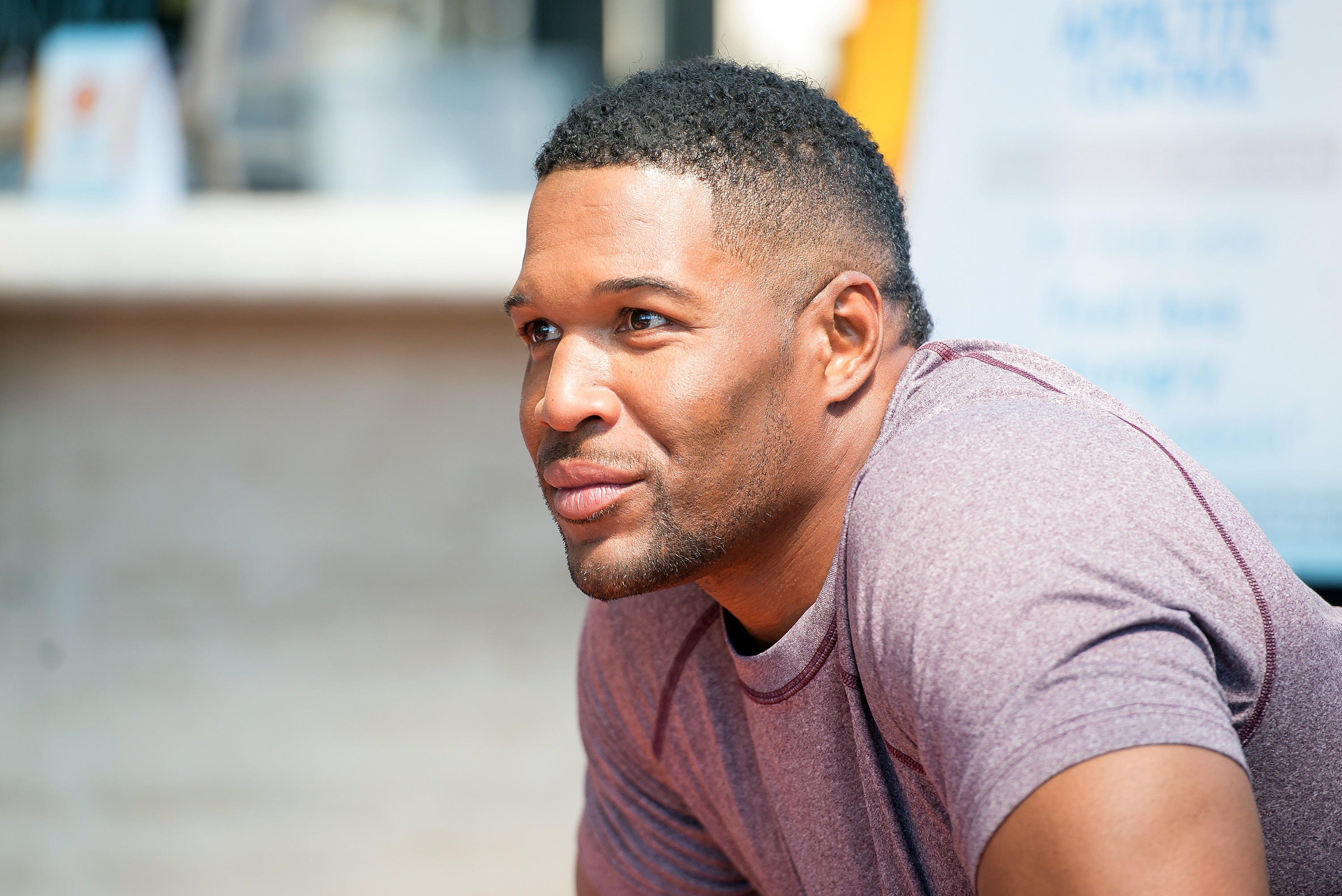 Former Giants player Michael Strahan
