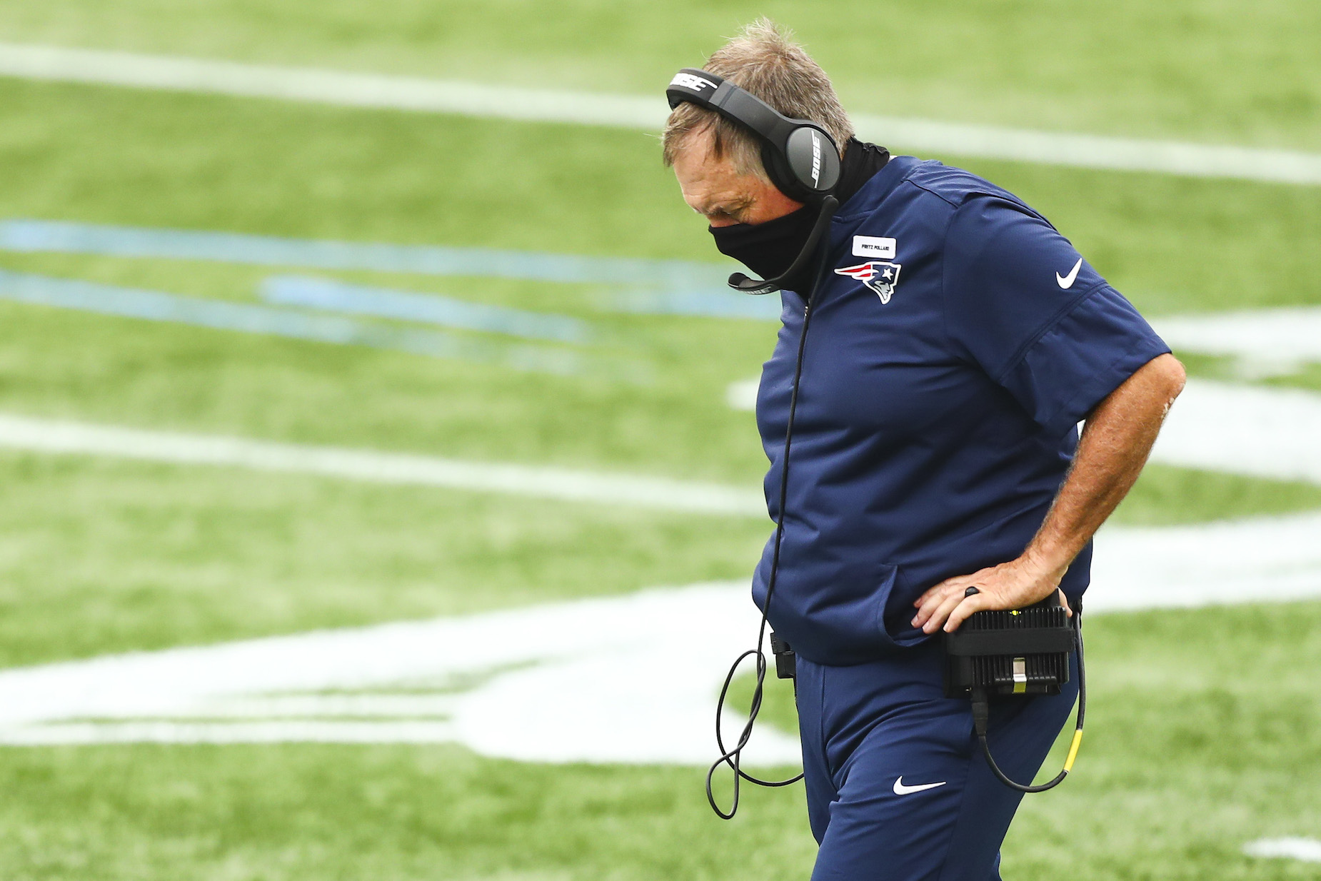 The New England Patriots' COVID-19 challenges just became even larger.