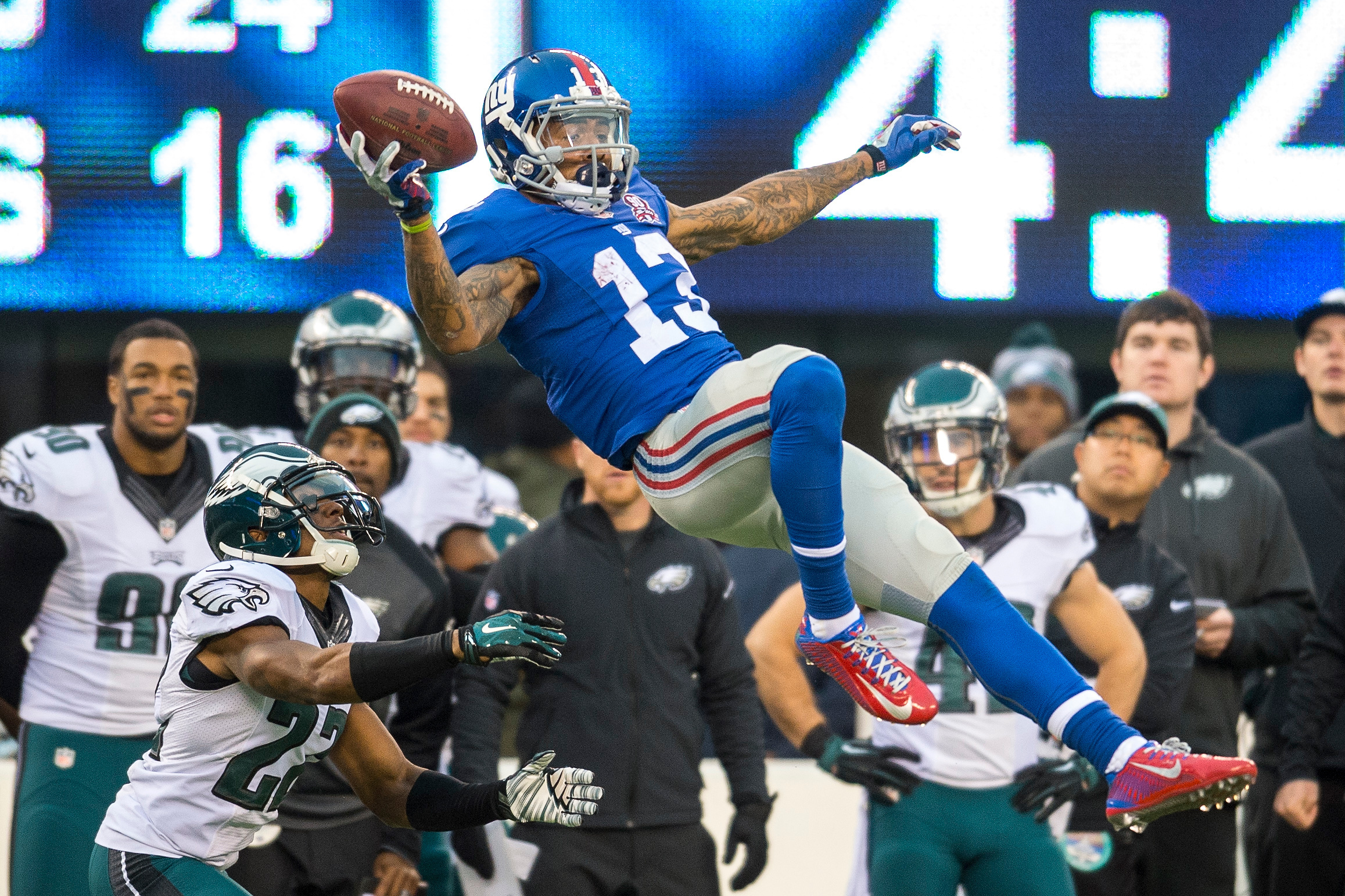 Wide receiver Odell Beckham Jr.