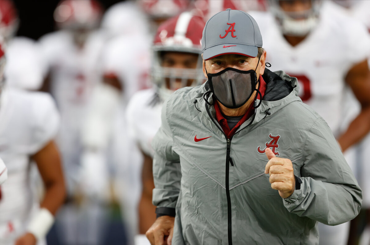 Nick Saban will coach the Alabama Crimson Tide on Saturday, October 17, after a third straight negative test for COVID-19.