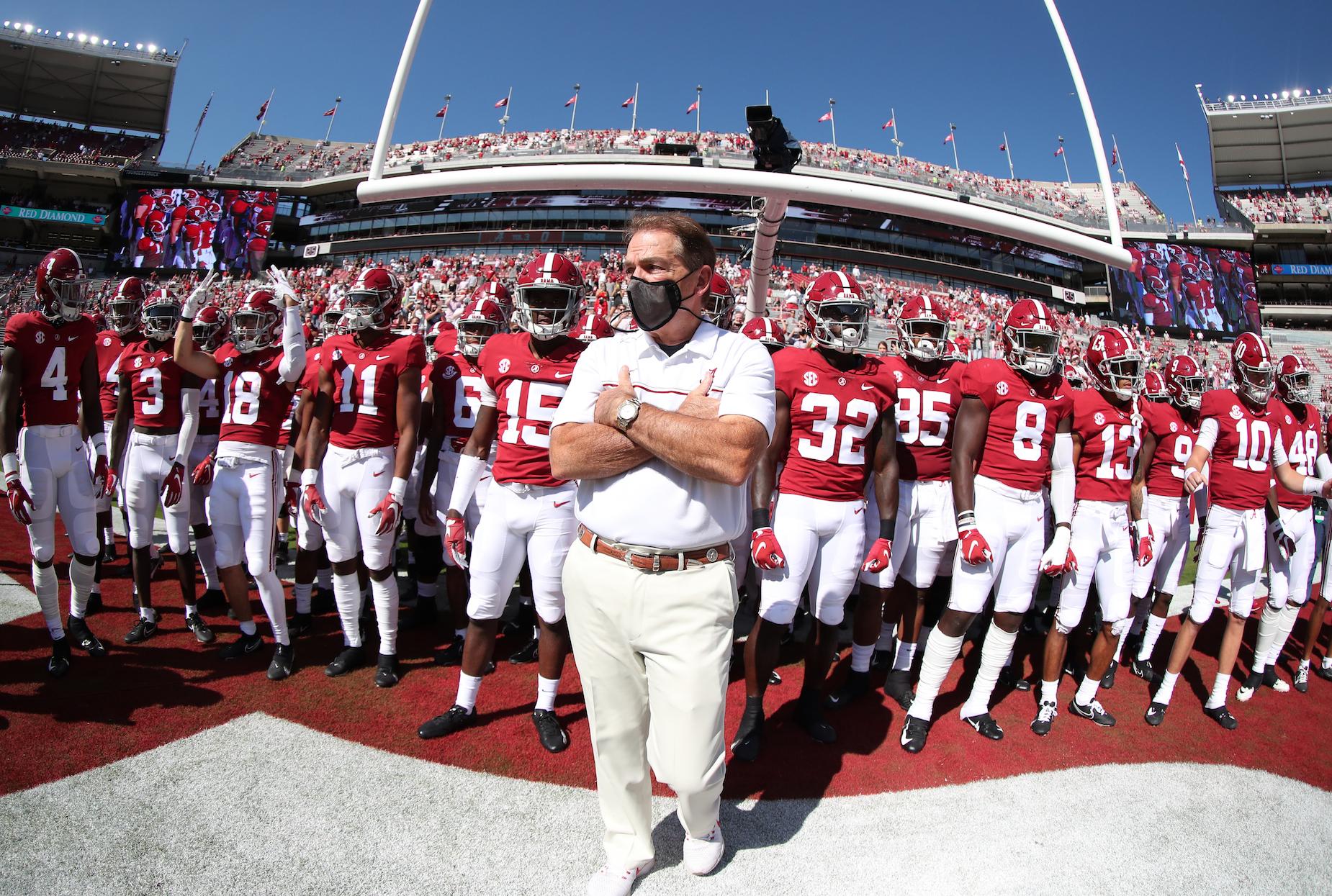 Nick Saban's massive Alabama salary makes him the highest-paid NCAA football coach.
