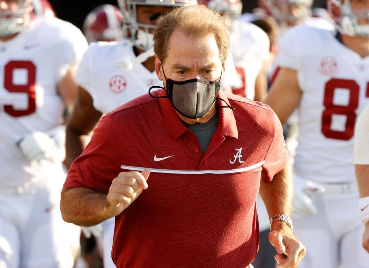 Nick Saban just suffered the scary reality of COVID-19 just days before Alabama takes on Georgia in a major SEC matchup.