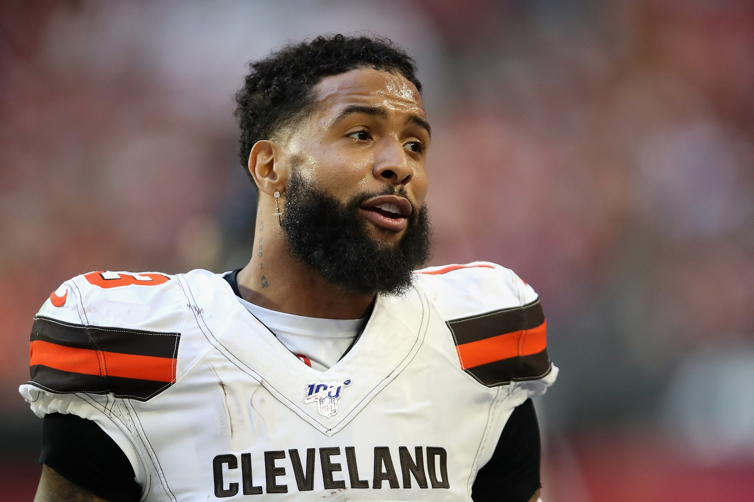 Odell Beckham Jr. loving Browns plans