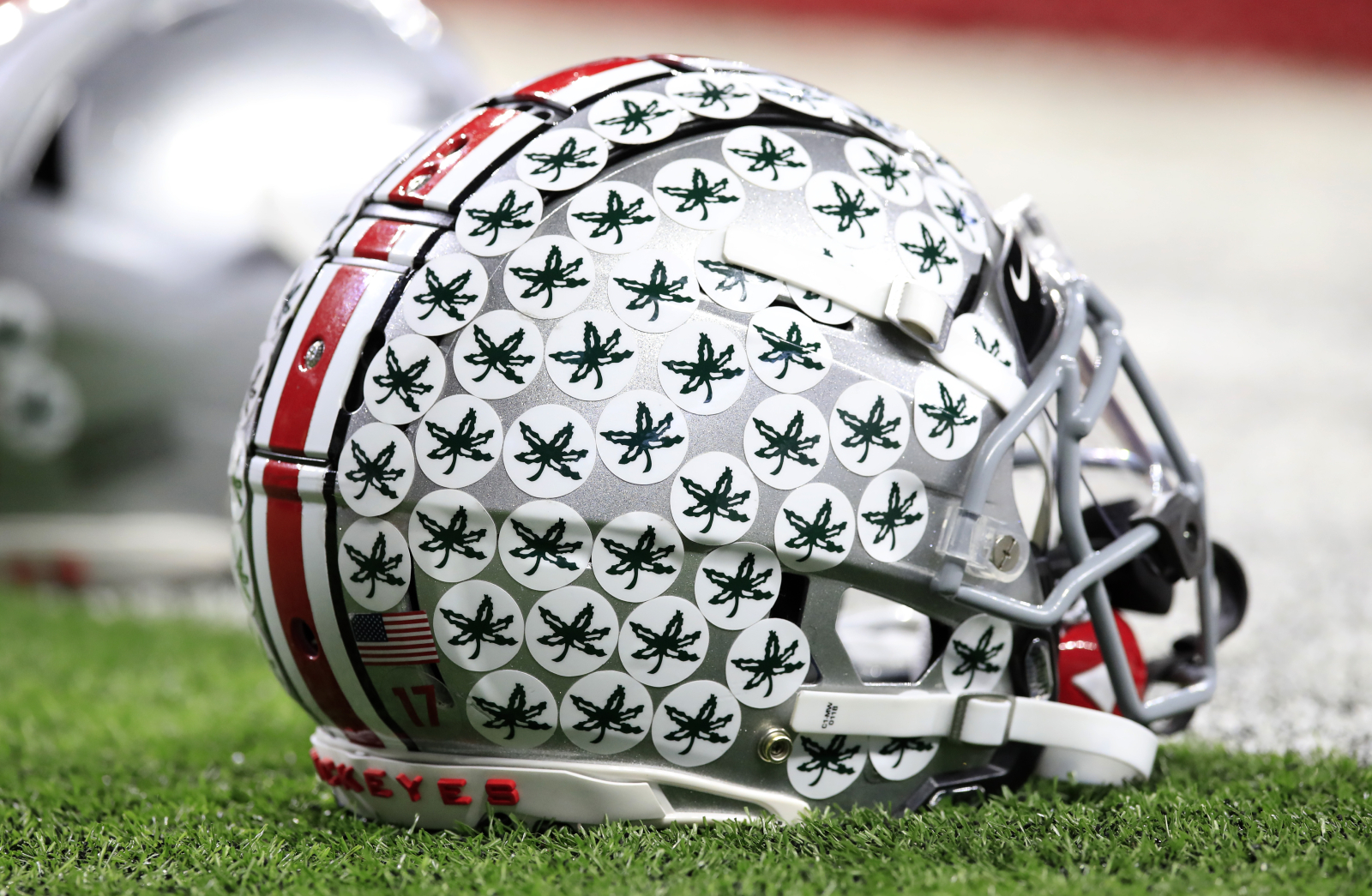 Ohio State is one of the best college football programs in the country. So, why does Ohio State put stickers on its players' helmets?