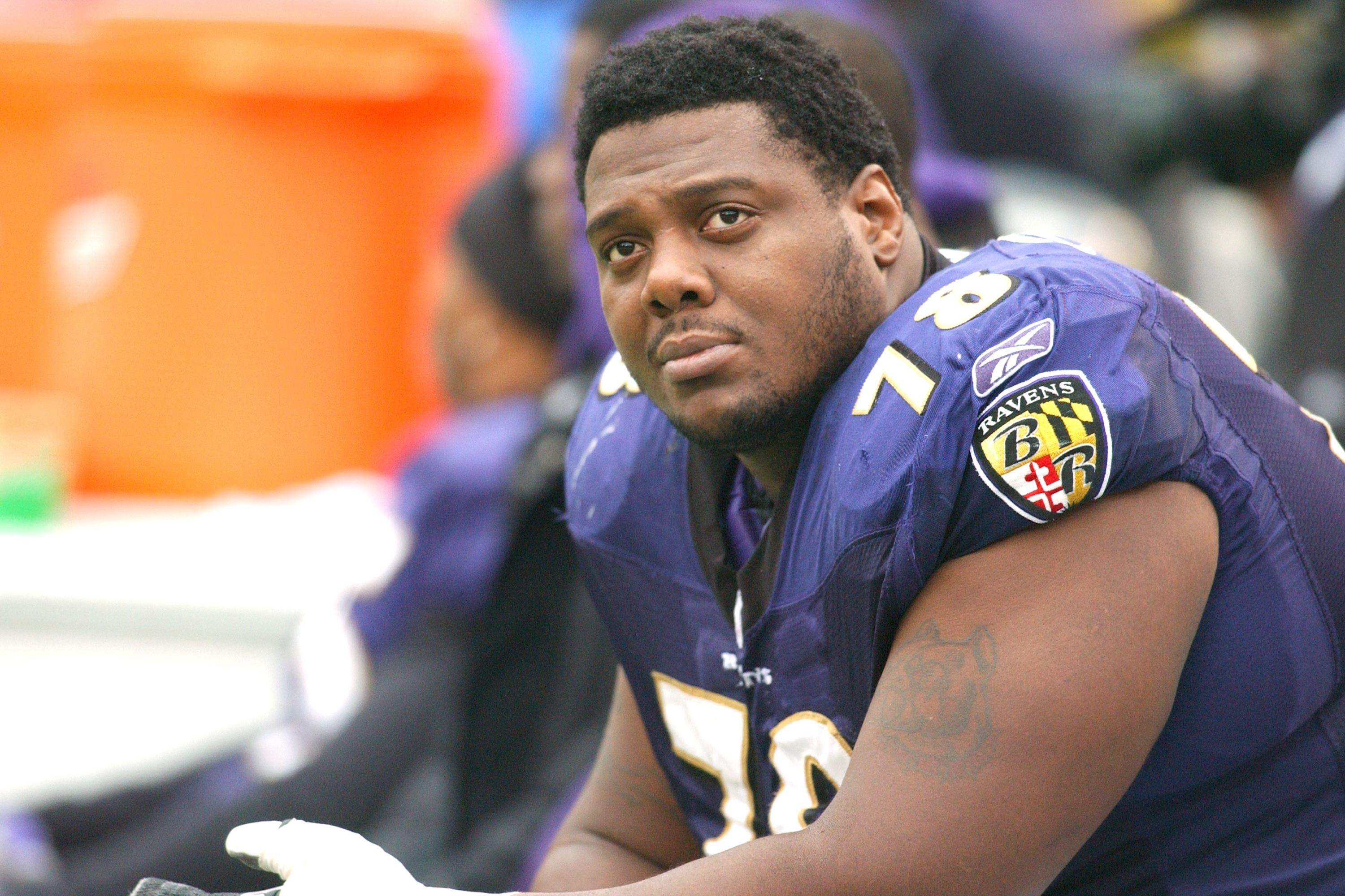 Orlando Brown Sr. was on his way to be a Baltimore Ravens legend. A horrific injury ended Brown's career before his tragic death in 2011.