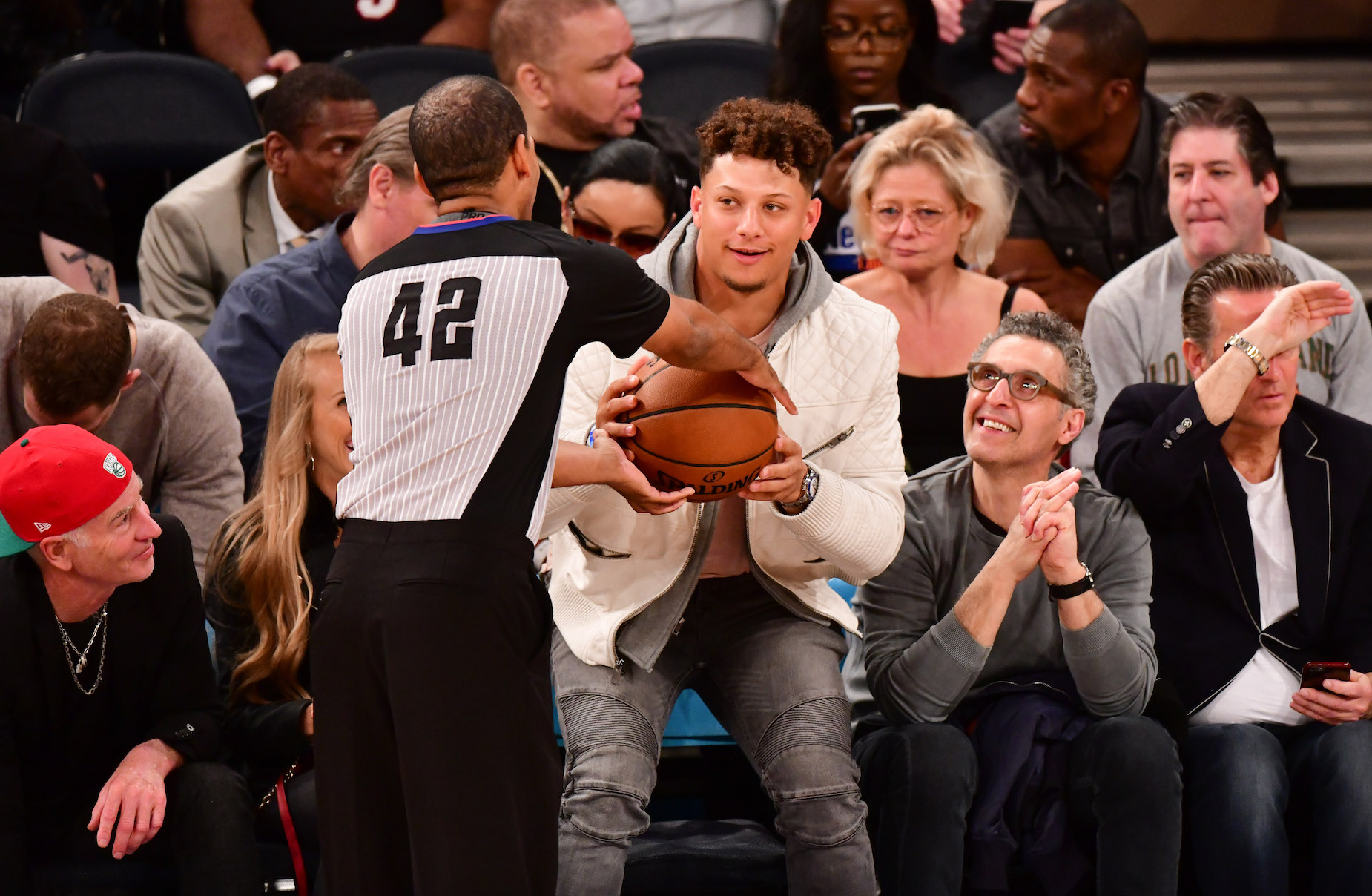 Kansas City Chiefs quarterback Patrick Mahomes took to Twitter in an attempt to bring the NBA to Missouri.