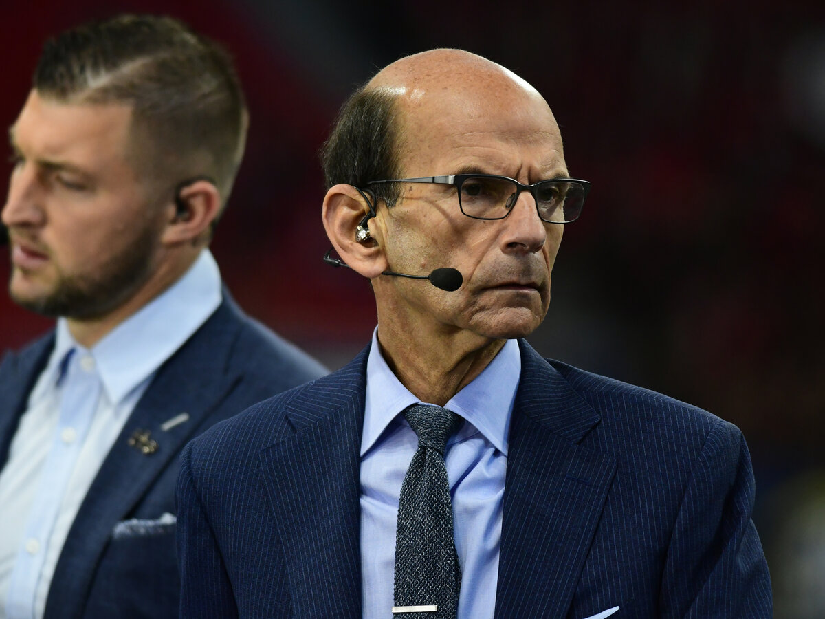 """ESPN's Paul Finebaum once said America """"is not oppressing Black people."""" Finebaum later apologized for those comments."""