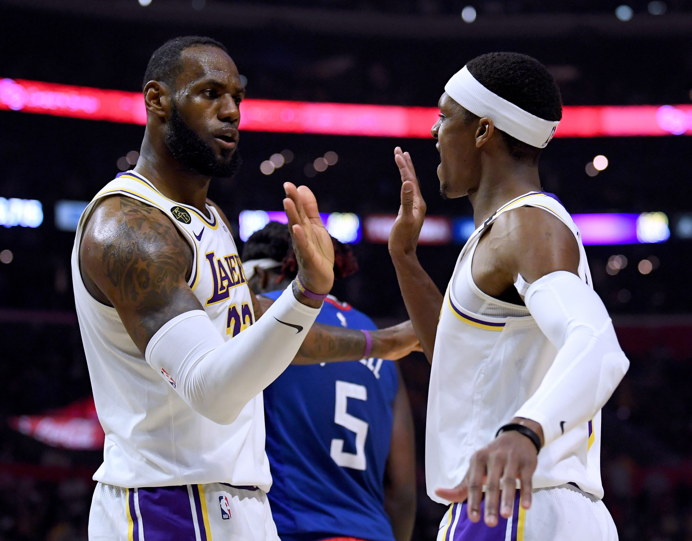Rajon Rondo has proven to be an extremely valuable piece for the Lakers. He even proved it once by confronting LeBron James.